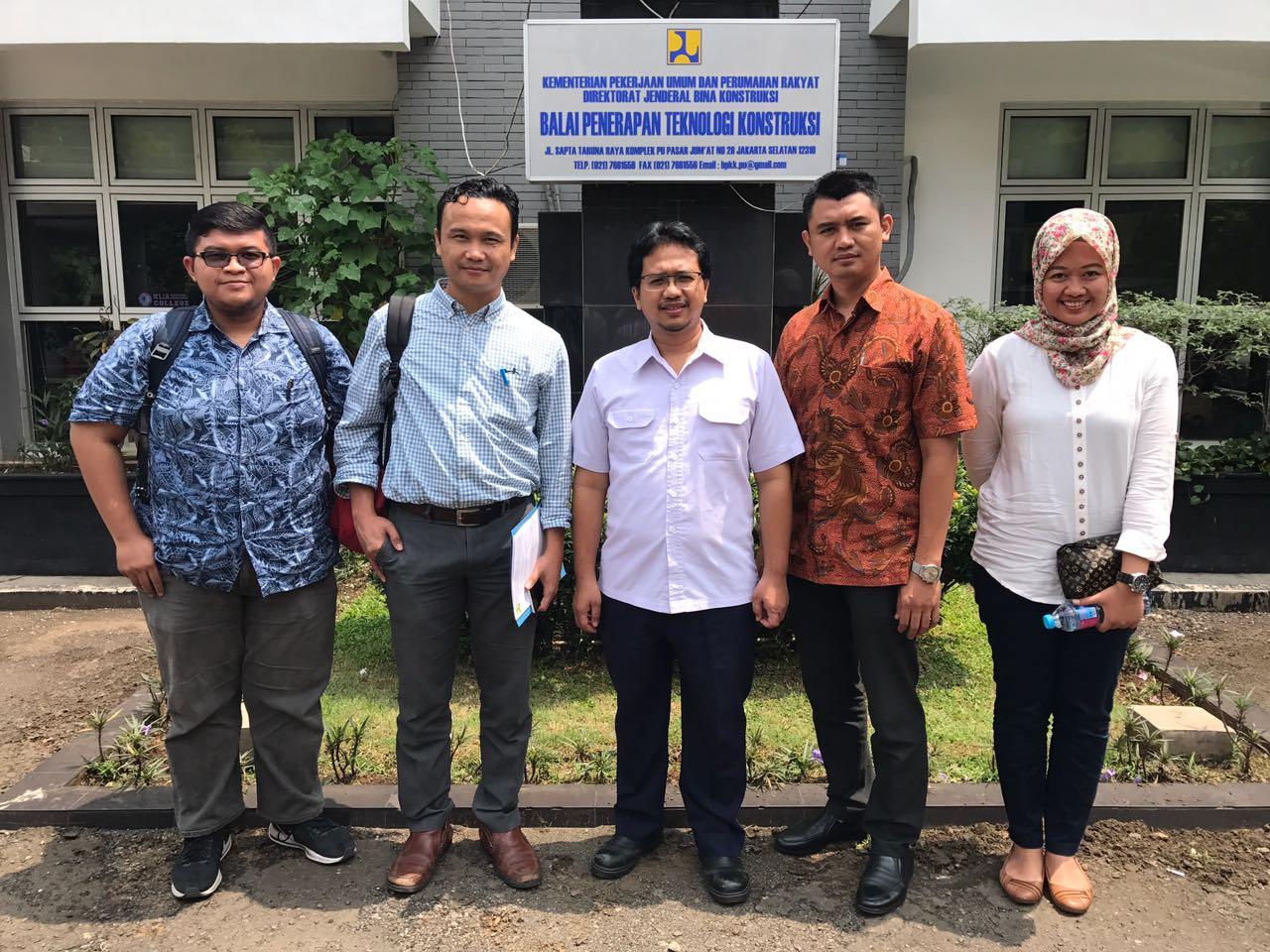 Diskusi Lanjutan Delegasi Institut BIM Indonesia dengan Bina Konstruksi PUPR